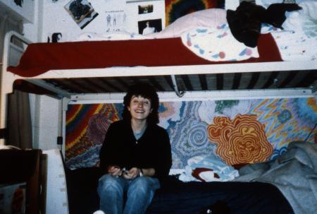 Dorm room, c.1989