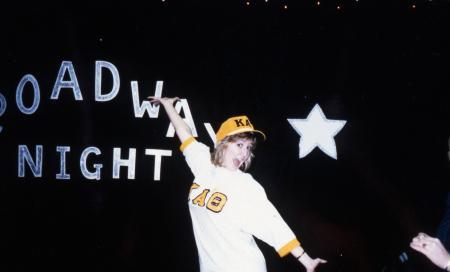 Broadway night, c.1989