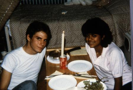 Dinner date, c.1989