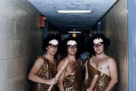 Cavemen costumes, c.1989