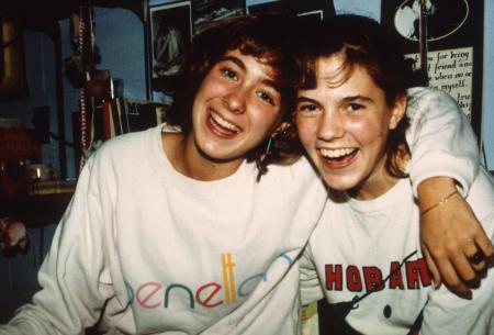 Big smiles, c.1992