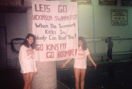 Dickinson swimmers, c.1992