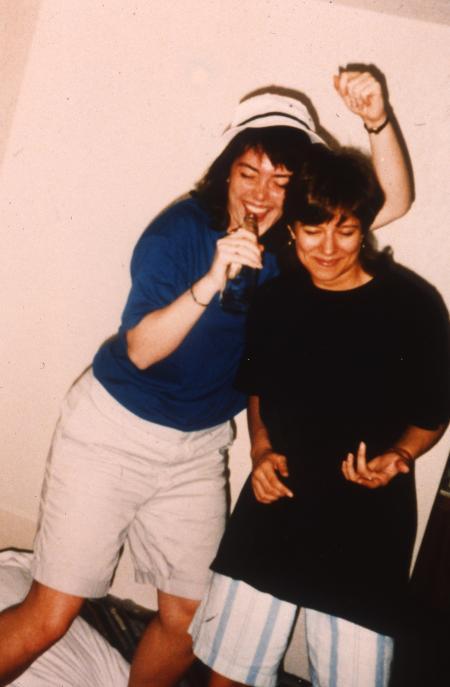 Air guitar, c.1992