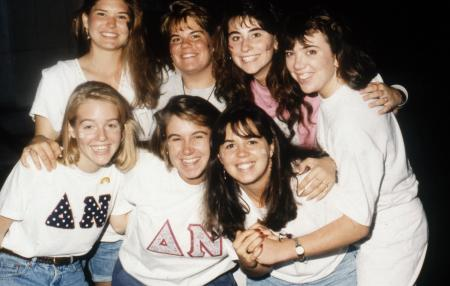 Delta Nu sisters, c.1993