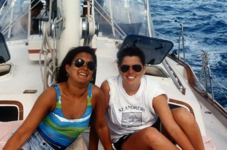 Boat ride, c.1993