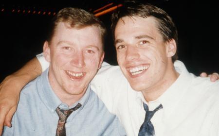 Cheerful friends, c.1993