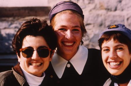 Blue Hats smile, c.1994