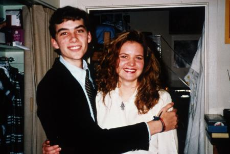 Couple smiles, c.1994