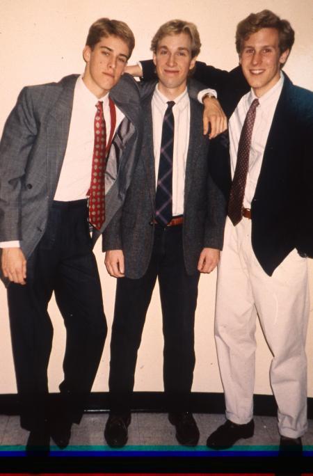 Boys at a formal, c.1994