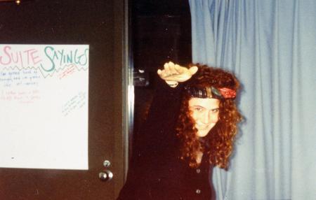 Dancing in a McKenney suite, c.1995