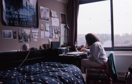 Dorm room at University of East Anglia, 1995