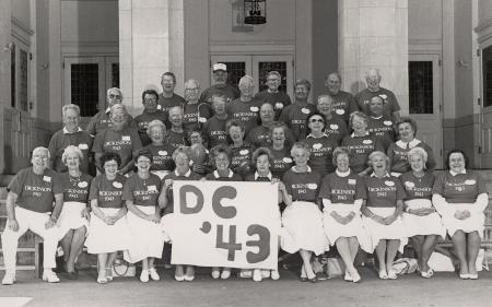 45th Reunion of the Class of 1943, 1988