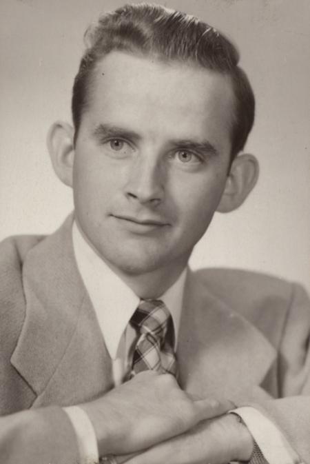 Donald Edward Barber, 1953