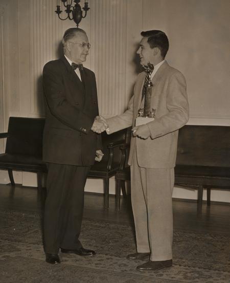 Donald P. Bush Jr., 1953