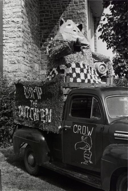 Homecoming spirit display, 1970