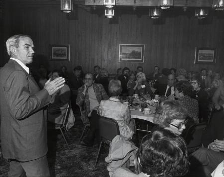 Alumni at Homecoming, 1981