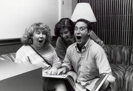 Alumni at Homecoming, 1989