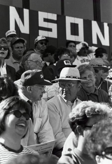 Crowd at Homecoming football game, 1994