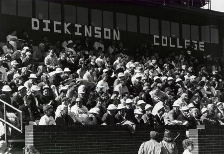 Crowd at Homecoming Football game, 1996