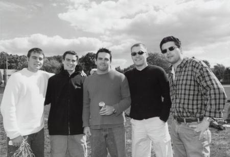 Alumni at Homecoming, 2000