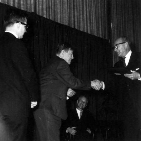 W. H. Auden, Arts Award, 1968