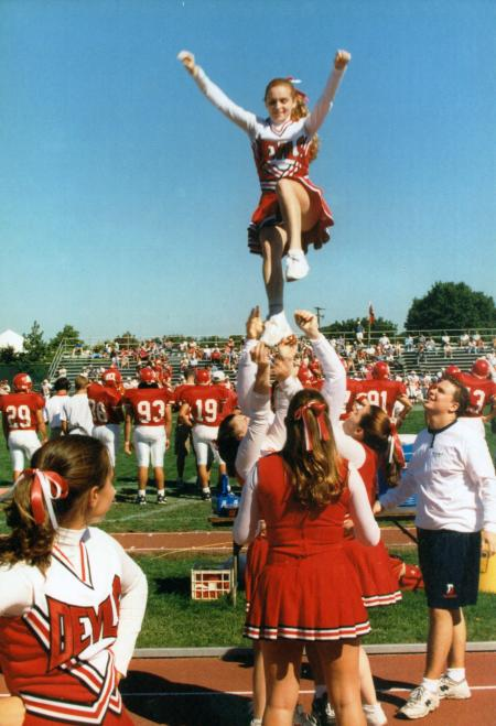 cheerleading  1995