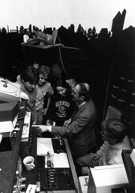Astronomy Class in the Planetarium, c.1990