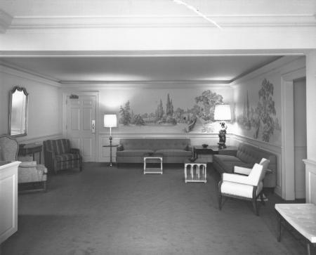 Adams Hall interior, 1963