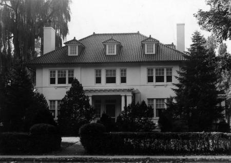 Alpha Chi Rho House, c.1960