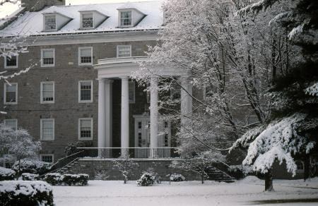 Adams Hall, 1990