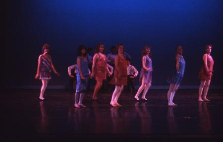 Dance Theatre Group performance, 1986