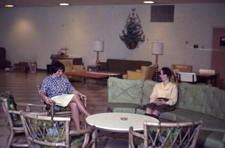 Adams Hall Rec Room, 1965