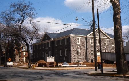 Dana Hall construction, 1966