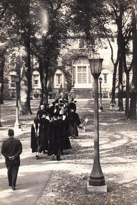 Academic Procession at Commencement, 1966