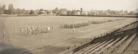 32nd College Training Detachment on Biddle Field, 1943