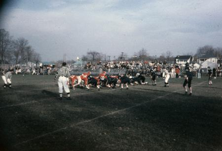 Homecoming game vs. Wilkes, 1958