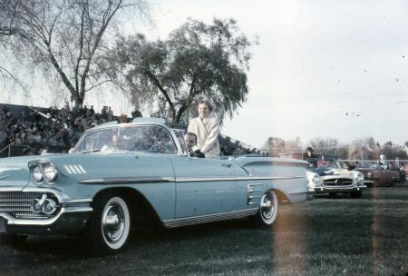 Beta Theta Pi homecoming queen, 1958