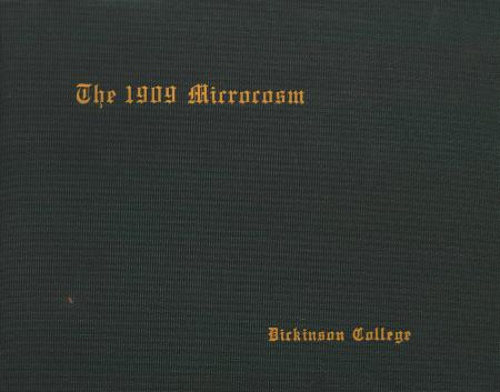 Microcosm yearbook for 1907-08
