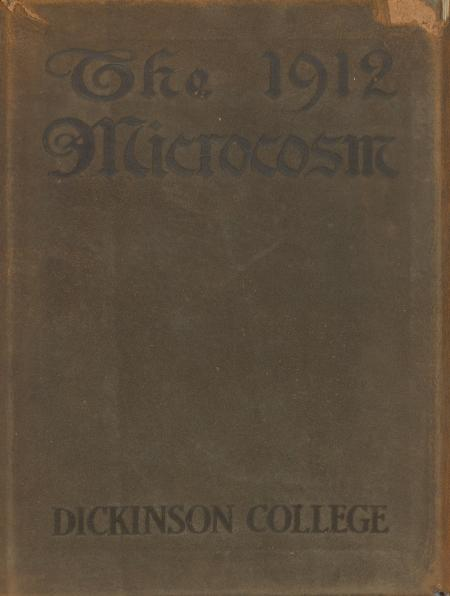 Microcosm yearbook for 1910-11