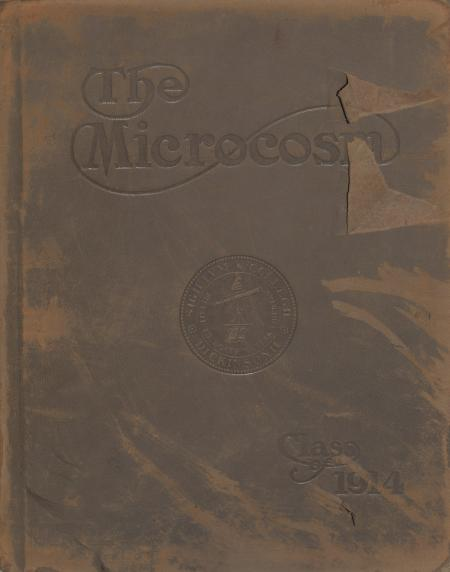 Microcosm yearbook for 1912-13