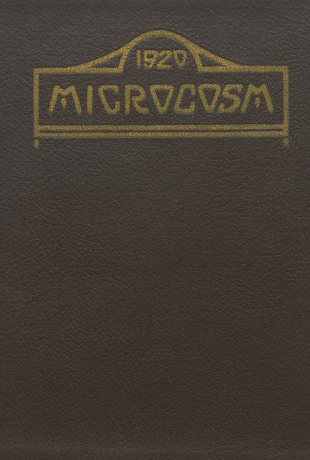 Microcosm yearbook for 1918-19