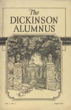 Dickinson Alumnus, August 1923
