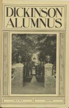 Dickinson Alumnus, August 1924