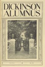 Dickinson Alumnus, May 1925