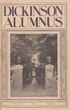 Dickinson Alumnus, August 1925