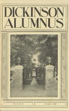 Dickinson Alumnus, November 1925