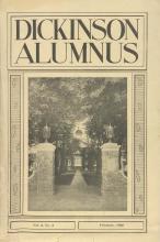 Dickinson Alumnus, February 1926