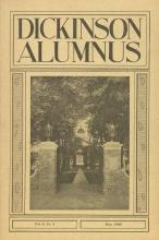 Dickinson Alumnus, May 1926
