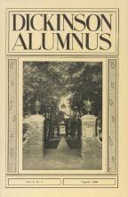 Dickinson Alumnus, August 1926