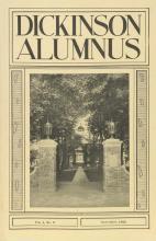 Dickinson Alumnus, November 1926